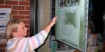 Projection Film - GlassVu Mk II - Interactive Kiosk - Hawkesbury